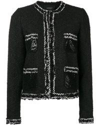 Giambattista Valli - Two-tone Knit Jacket - Lyst