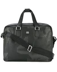 Cerruti 1881 - Punch hole detailed briefcase - Lyst
