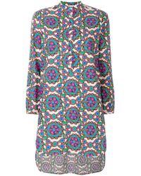 LaDoubleJ - Kaleidoscope Beach Shirt Dress - Lyst