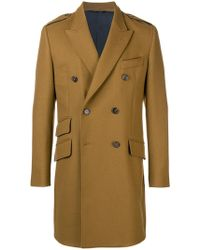 Dolce & Gabbana - Double Breasted Coat - Lyst