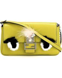Fendi | Micro 'baguette' Bag Bugs Crossbody Bag | Lyst