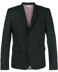 Thom Browne - 4-bar Silk High-armhole Sport Coat - Lyst