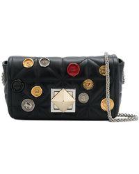 Sonia Rykiel - Le Copain Medium Embellished Bag - Lyst