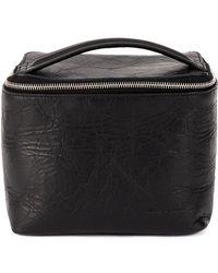 Rick Owens - Zipped Cuboid Bag - Lyst