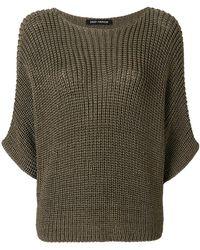 Iris Von Arnim - Three-quarter Sleeved Knit Jumper - Lyst