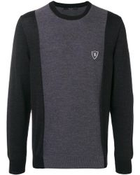 Billionaire - Logo Patch Sweater - Lyst