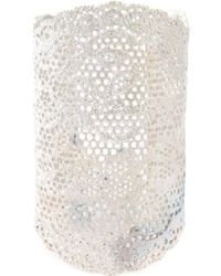 Aurelie Bidermann - Large 'vintage Lace' Cuff - Lyst