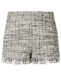 Twin Set - Woven Style Shorts - Lyst