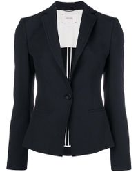 Dorothee Schumacher - Fitted Single-breasted Jacket - Lyst