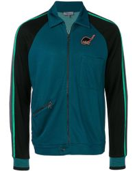 Lanvin - Two-tone Zipped Jacket - Lyst