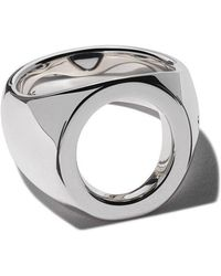Tom Wood - Oval Open Ring - Lyst