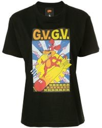 G.v.g.v - Printed T-shirt - Lyst