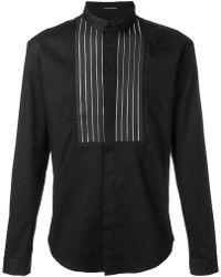 Unconditional - Front Zip Panel Shirt - Lyst