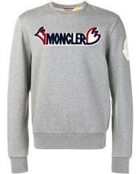 Moncler - Logo Sweatshirt - Lyst