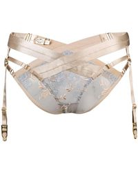 Bordelle - Amaya Harness Brief - Lyst