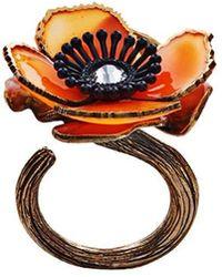 Fendi - Flower Ring - Lyst