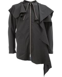 Moohong - Ruffled Jacket - Lyst