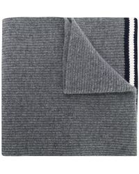 Bally - Ribbed Knit Scarf - Lyst