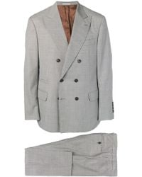 Brunello Cucinelli - Double-breasted Suit - Lyst