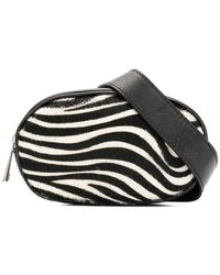 Marc Ellis - Zebra Print Belt Bag - Lyst