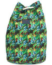 Fefe - Tropical Print Backpack - Lyst