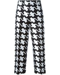 DSquared² - 'babe Wire' Patterned Trousers - Lyst