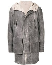 DESA NINETEENSEVENTYTWO - Shearling Lined Coat - Lyst