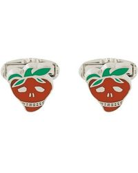 Paul Smith - Strawberry Skull Cufflinks - Lyst