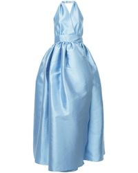 Alexis Mabille - Backless Flared Gown - Lyst