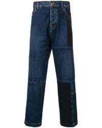 McQ - Patchwork Loose Jeans - Lyst