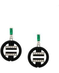 V Jewellery - Chloe Drop Earrings - Lyst