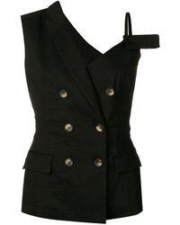 Pinko - Deconstructed Waistcoat - Lyst