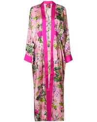 F.R.S For Restless Sleepers - Printed Kimono - Lyst