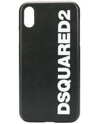 DSquared² - Funda para iPhone X con logo - Lyst
