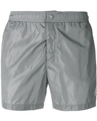 Moncler - Piped Swim Shorts - Lyst