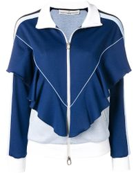 Golden Goose Deluxe Brand - Zipped Ruffled Tracksuit Jacket - Lyst