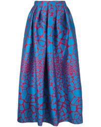Ultrachic | Long Flared Skirt | Lyst