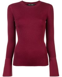 Proenza Schouler - Ribbed Knit Fitted Top - Lyst