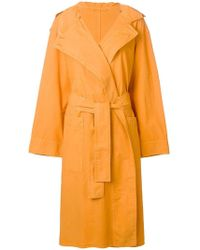Lemaire - Oversized Trench Coat - Lyst
