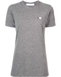 Rodarte - Camiseta con bordado de corazón - Lyst