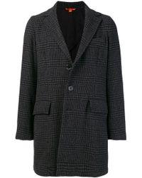 Barena - Checked Coat - Lyst