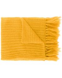 Mp Massimo Piombo - Fringed Scarf - Lyst