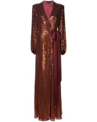 Jenny Packham - Vestido de fiesta bordado con lentejuelas - Lyst