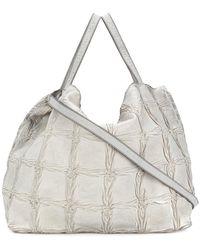 Numero 10 - Weave Effect Shoulder Bag - Lyst