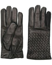 Bottega Veneta - Handschuhe mit Intrecciato-Flechtmuster - Lyst