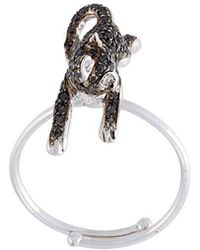Christina Debs - Cat Diamond Ring - Lyst