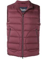 Herno - Zipped Gilet Jacket - Lyst