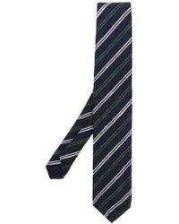 Lardini - Classic Striped Tie - Lyst