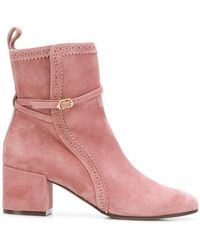 L'Autre Chose - Chunky Heel Boots - Lyst