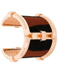 Roberto Cavalli - Pony Rock Cuff Bracelet - Lyst